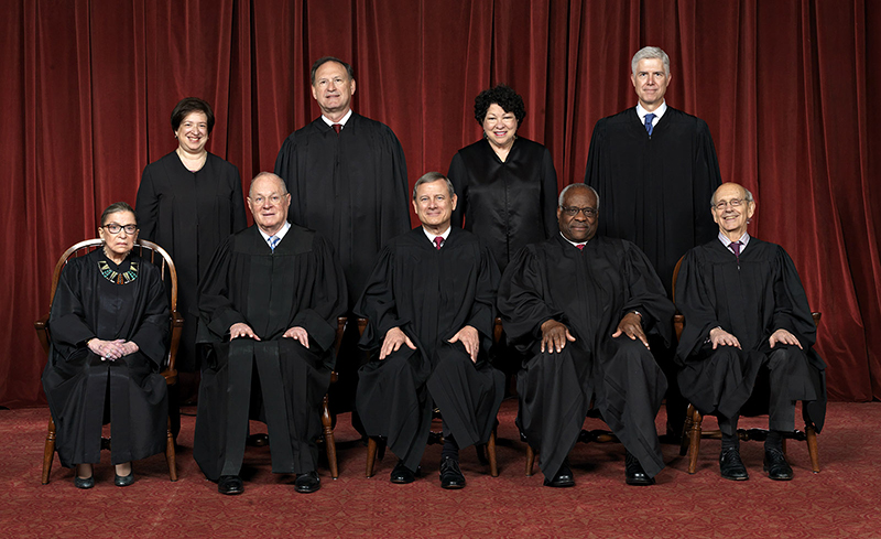 current U.S. Supreme Court Justices