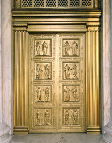 & The Bronze Doors
