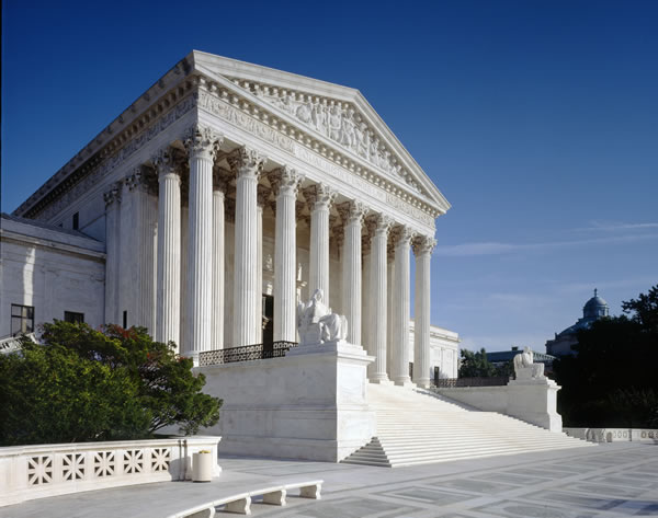 Supreme Court, West Facade