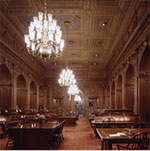 The Main Reading Room in the Supreme Court Library.