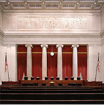 The Courtroom of the Supreme Court of the United States.