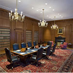 The Justices' Conference Room, where the Justices meet in private to discuss cases.