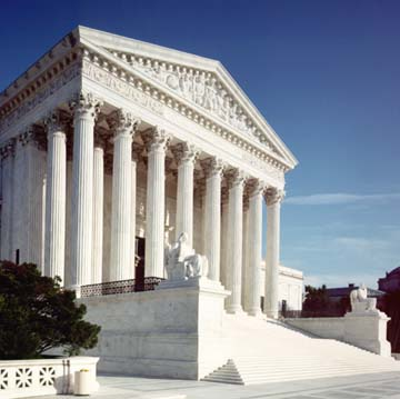 Front of Supreme Court Building