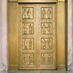 The Bronze Doors at the main entrance of the Supreme Court Building